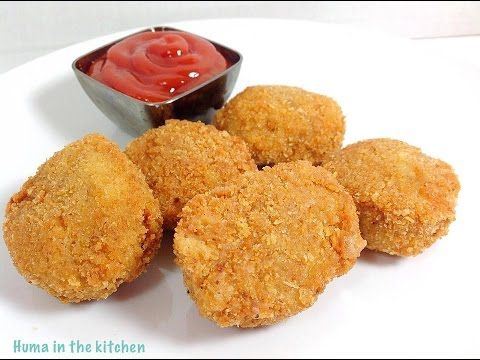 Mcdonald's Chicken McNuggets Video Recipe In 3 Easy Steps How To Make Homemade Nuggets (HUMA) - YouTube