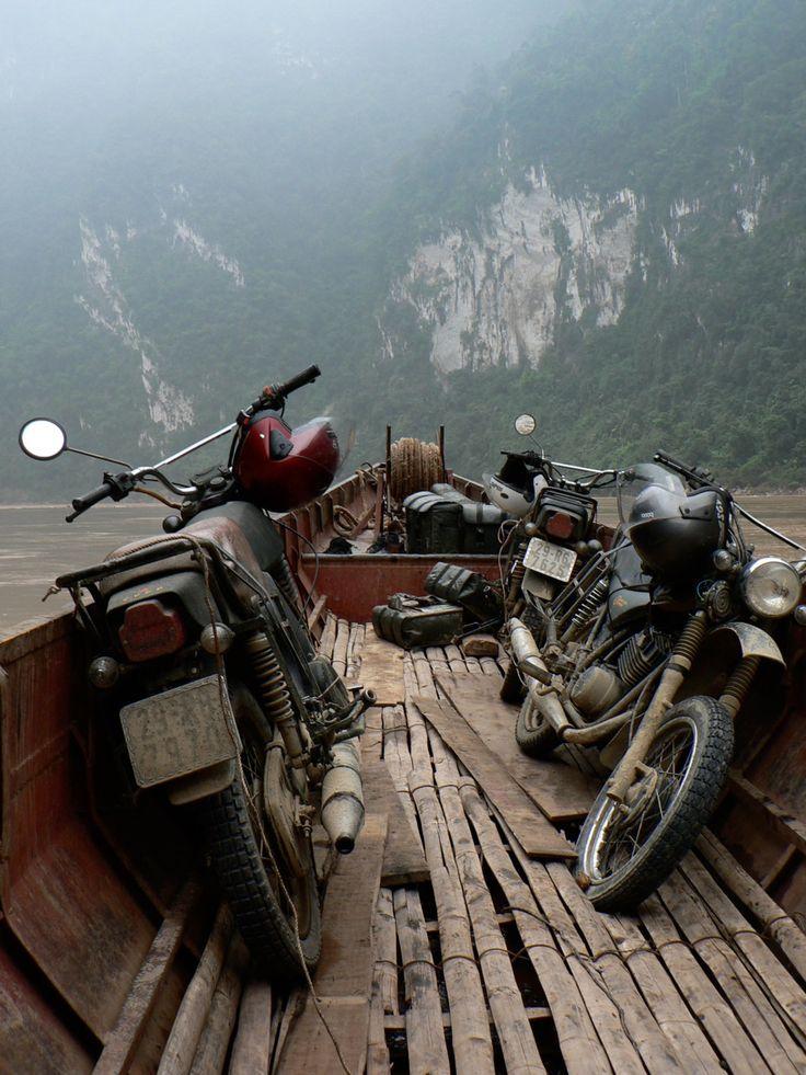 Russian MINSK 125cc in Vietnam