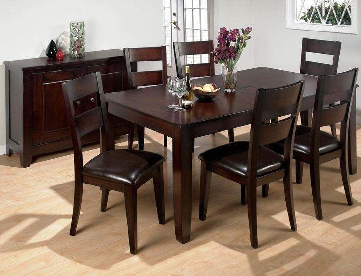 Best 25 Brown Dinning Room Furniture Ideas On Pinterest  Dining Prepossessing Brown Dining Room Table Design Decoration