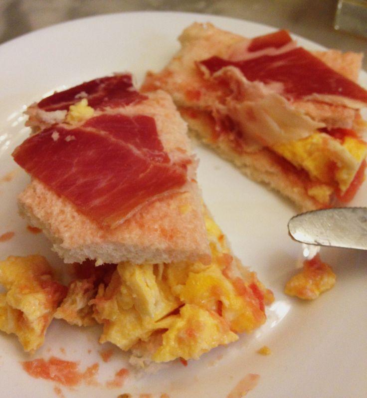 Tortilla + Jamón