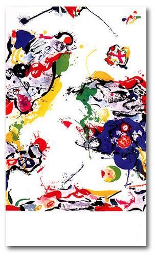 SAM FRANCIS http://www.widewalls.ch/artist/sam-francis/  #contemporary  #art