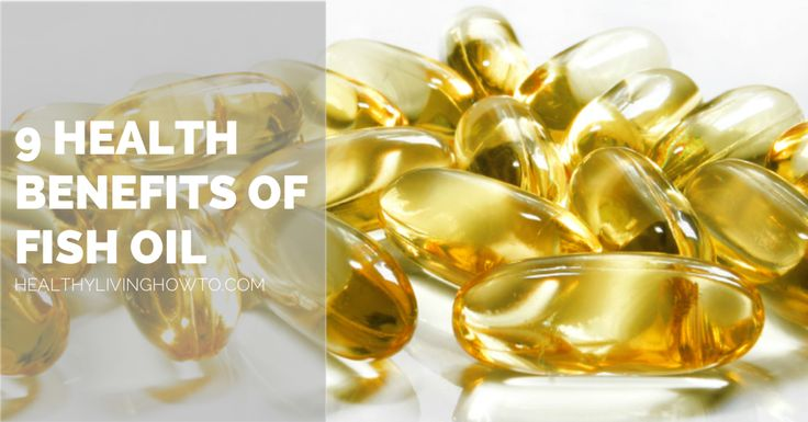 9 Health Benefits of Fish Oil