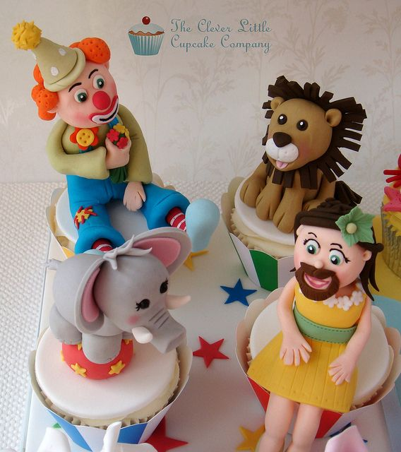 Cake International Entry - Circus Cupcakes | Flickr - Photo Sharing!
