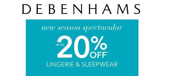 Today Debenhams have 20% off lots of their shapewear. This includes Maidenform and Red Hot Assets Label By Spanx but doesn't include their classic Spanx.