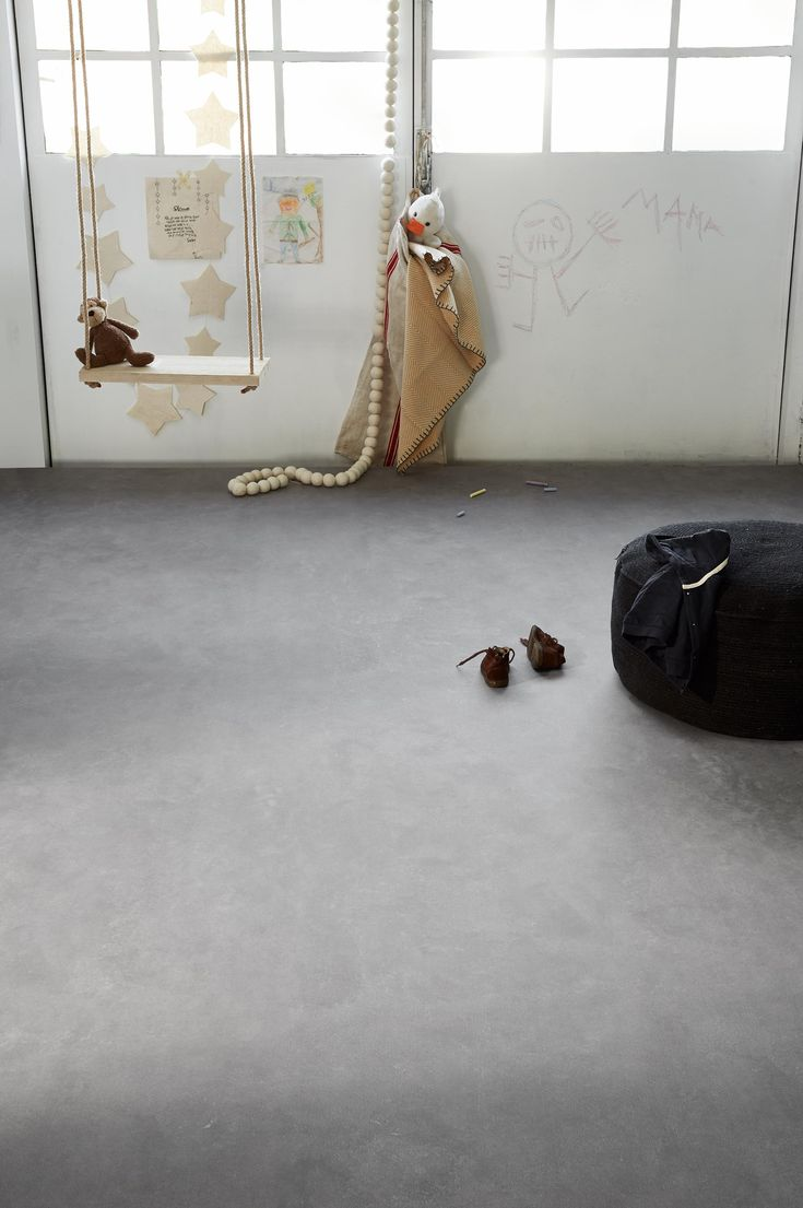 Novilon VT wonen vloer kleur Ijzer