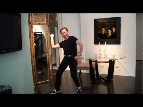 George Takei's Happy Dance is the cutest thing ever!