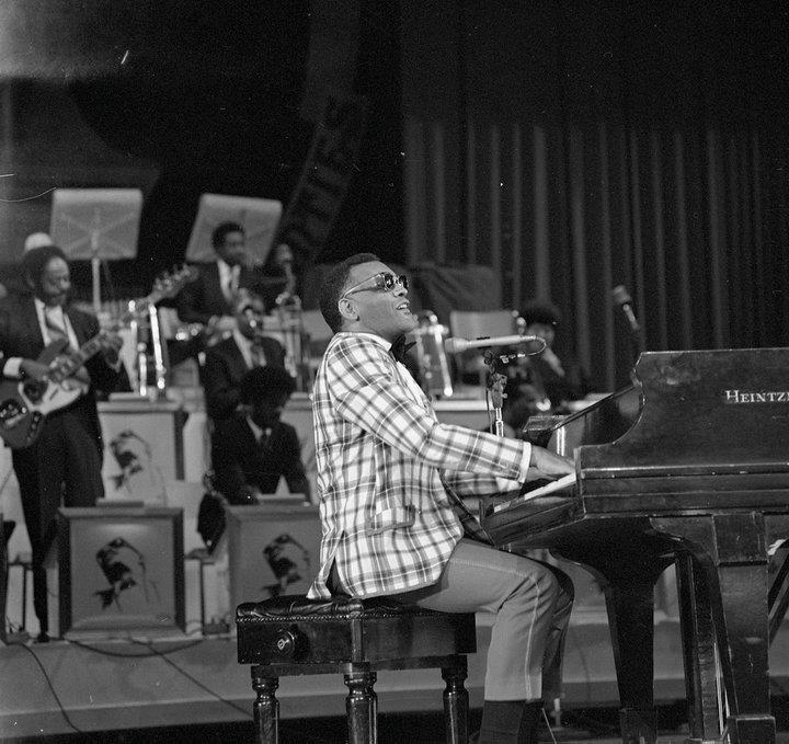 Vintage Toronto ~  Ray Charles - CNE Bandstand - 19...???