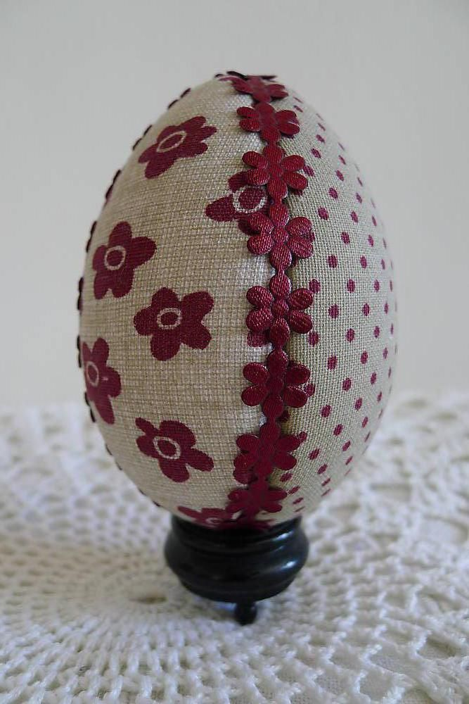 Veľká Noc - Veľkonočné vajíčko - patchwork - 5098492_