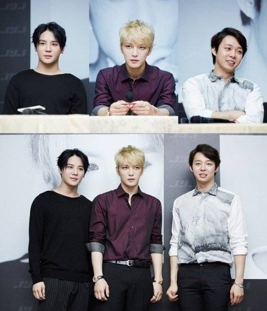 C-JeS Entertainment denies report that reporters held a boycott during JYJ's press conference