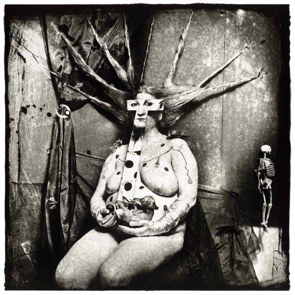 Portrait de Nan, Nouveau-Mexique, 1984, Joël-Peter Witkin ©