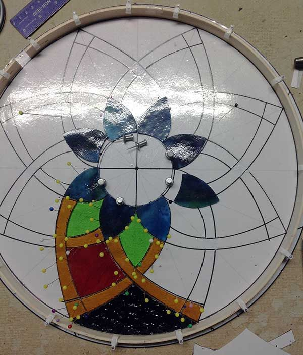 512 best stained glass geometric images on pinterest for How to cut yourself with glass