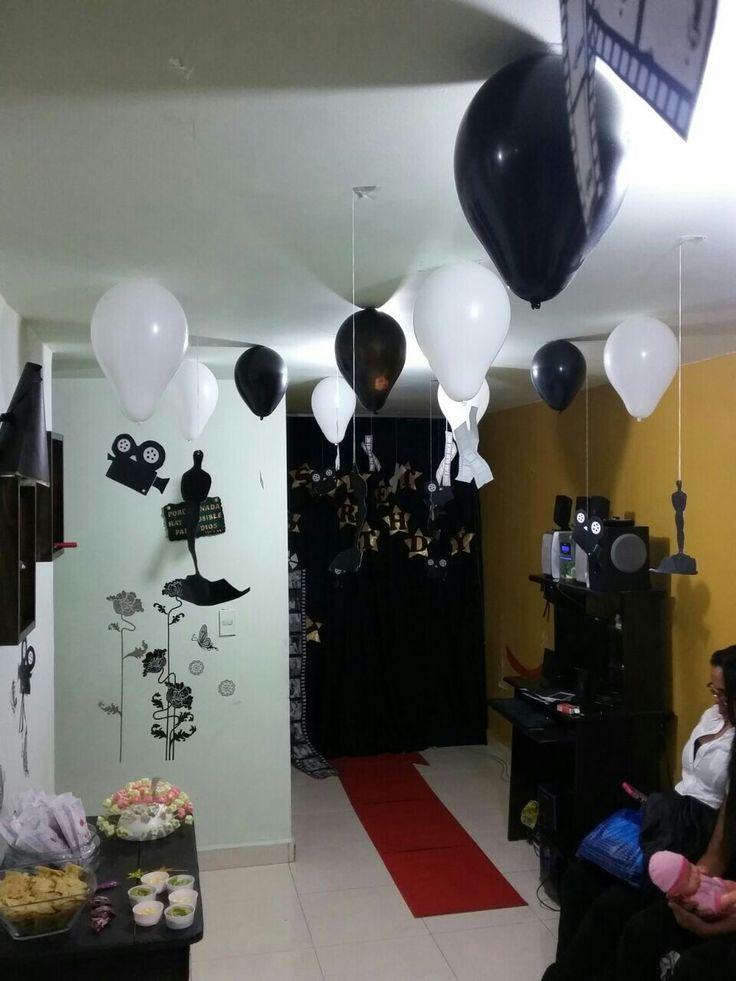 Fiesta de cumpleaños noche de cine