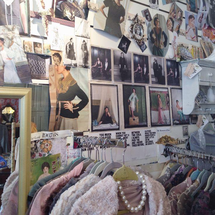 vintage shop in clifden, ireland