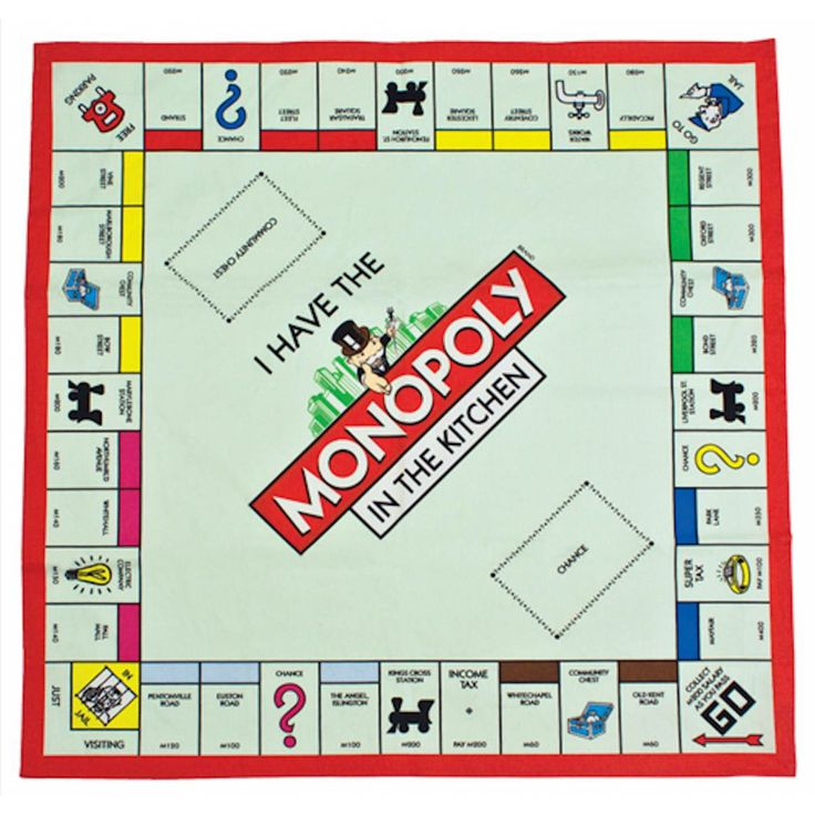 Luscious image within printable monopoly boards