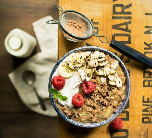 Chocolate Zucchini Bread Oatmeal | Community Post: 19 Drool-Worthy Ways To Up Your Oatmeal Game