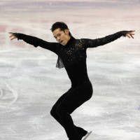 フィギュア・グランプリファイナルの男子SPで演技する高橋大輔。5位と出遅れた(カナダ・ケベック市)