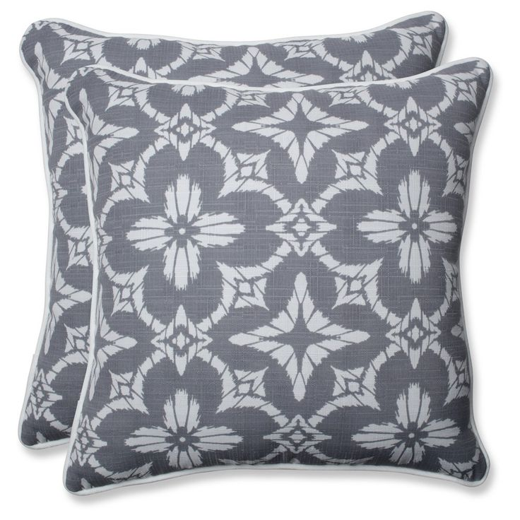 aspidoras gray throw pillow set of 2 pillow perfect - Grey Throw Pillows