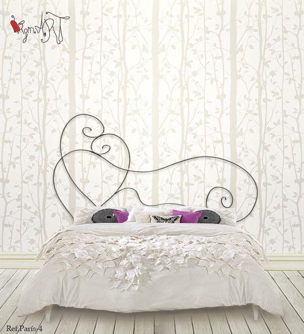 Cabeceros de forja http://virginiart.es Diseño en forja. Cabecero de cama fabricado de forja artesanal, con el amor de nuestras manos. Diseños originales en forja.