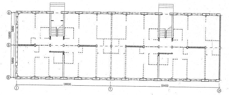 Возможный демонтаж перегородок в серии 1-335