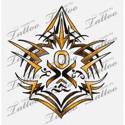 Outlaw Ironman Triathlon Tattoo | outlaw triathlon tribal #48927 | CreateMyTattoo.com