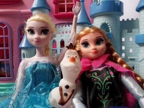 Frozen Movie Charactors, Queen Elsa is making yummy breakfast for Prince...