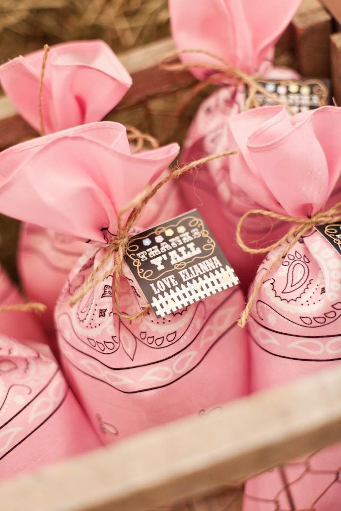 Shabby Chic Cowgirl Birthday Party