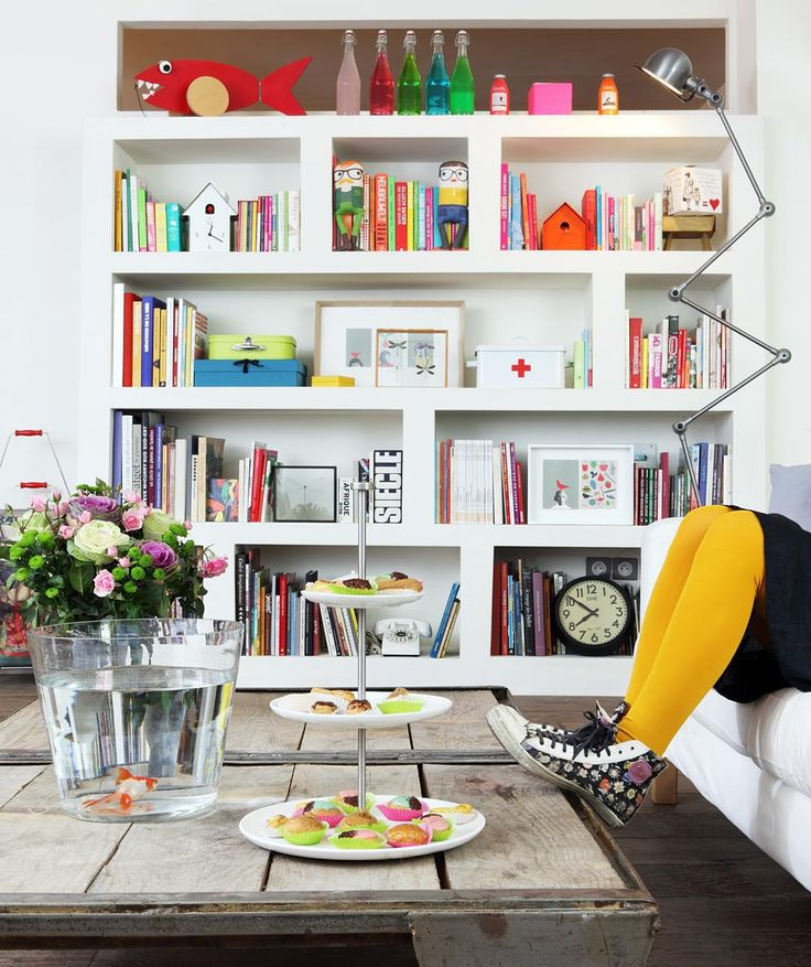 Home sweet home and my flower power basket By @paul_smith photo By Yann Deret #zoedelascases #paris #decoration