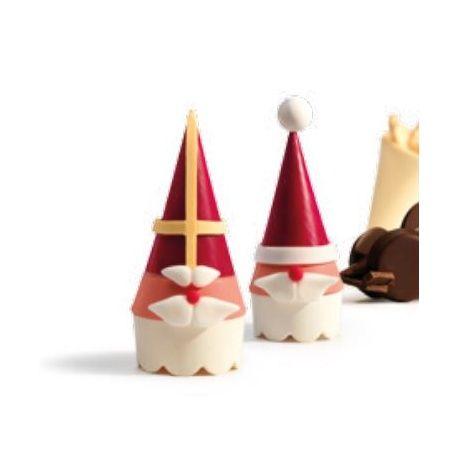 Santa chocolate mold