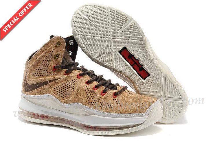 580890-200 Nike Sportswear LeBron X Cork Classic Brown/Classic  Brown-University Red | Nike Lebron XI Elite | Pinterest | Brown university,  Nike sportswear ...