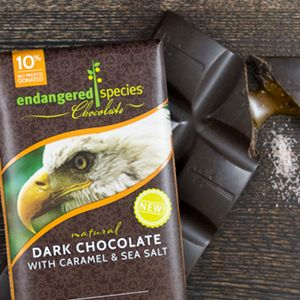 Endangered Species Chocolate is helping animals and farmers and also tastes great. Eat wonderful chocolate and help save the planet.