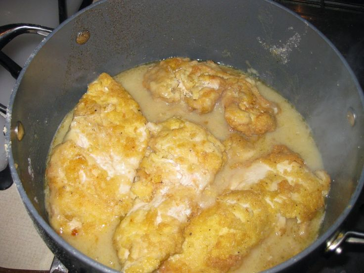 Recipe for chicken francese with pasta