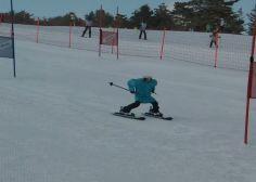 Non loin des Jeux olympiques d'hiver2018, cette course de robots skieurs a tenu ses promesses