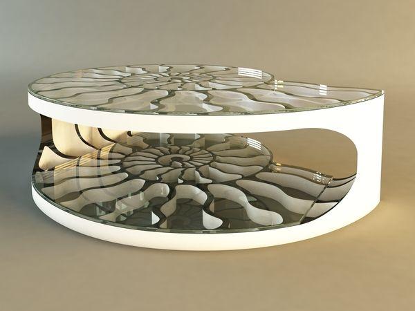 Ammonite   Coffee Table By Svilen Gamolov, Via Behance