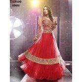 sangeeta-ghosh-red-net-floor-length-anarkali-suit
