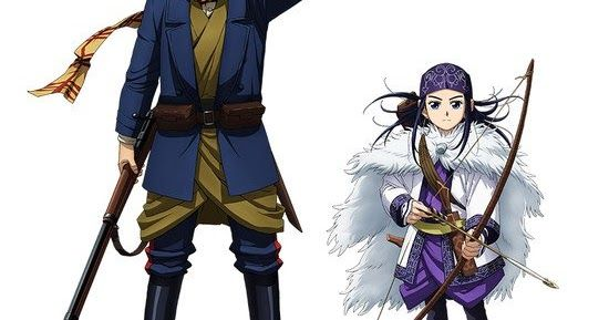 Golden Kamuy : New Anime trailer Reveals Release Date.