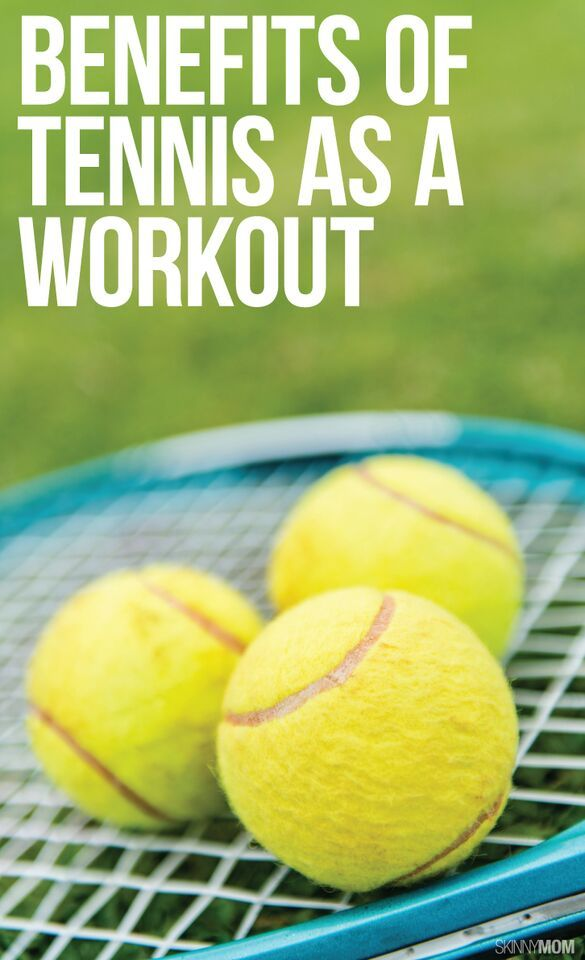 Check out all of the benefits of this tennis workout!