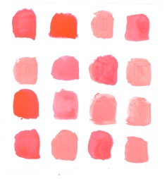 coral tones: Warm Colors, Beach Pinks All, Pretty Colors, Color Family, Color Crushes, Summer Colors, Blush, Coral Watercolor, Coral Perfect