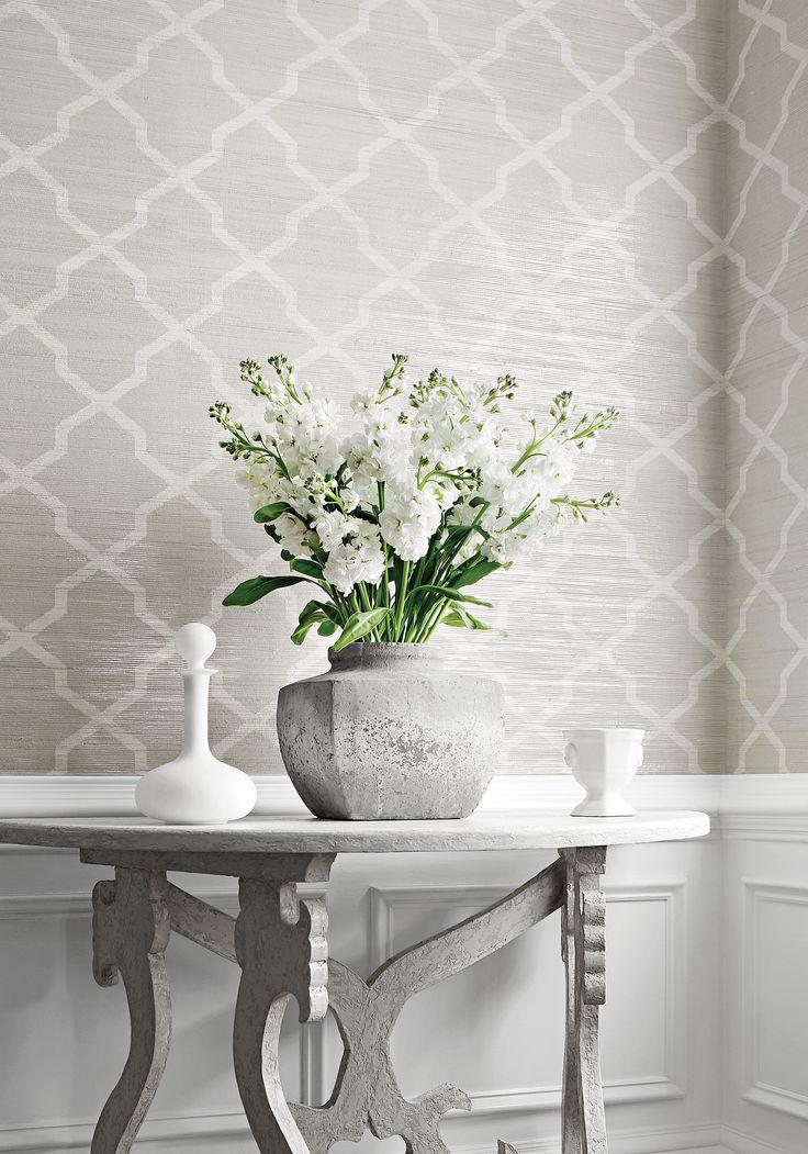 Best 20+ Grey pattern wallpaper ideas on Pinterest Hallway ideas - wallpaper ideas for living room