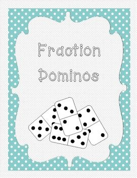 Fraction Dominos-Adding, Subtracting, Multiplying, Dividing & Comparing Fractions