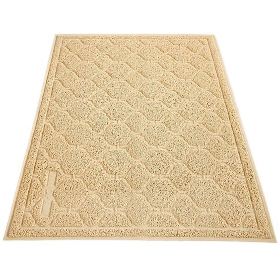 Cat Litter Mat, Cat Box Mat - Extra Large Cat Track Mat Best Litter Mats for Cats Kitty Litter Boxes, No BPA * Find out more about the great product at the image link.