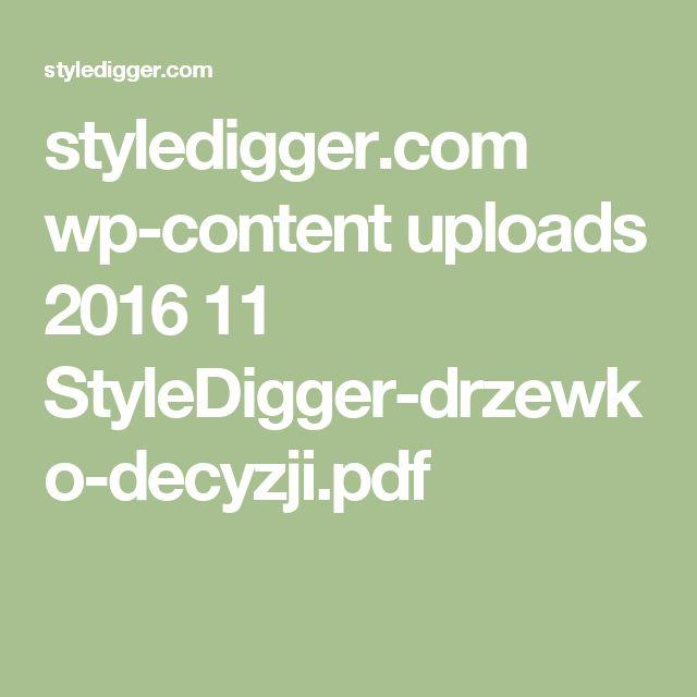 styledigger.com wp-content uploads 2016 11 StyleDigger-drzewko-decyzji.pdf