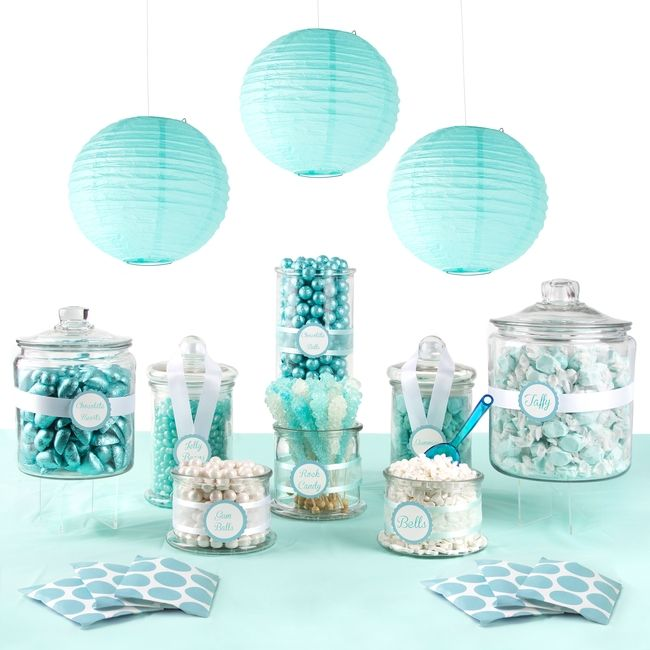 tiffany and co inspired candy buffet - Google Search