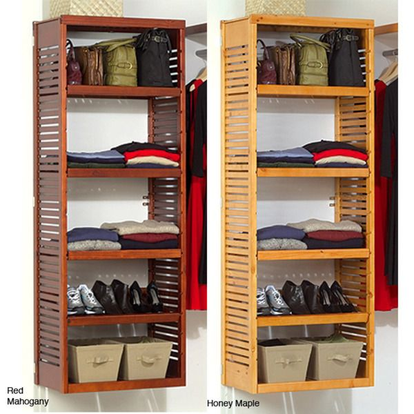 John Louis Deluxe Standalone Tower - Overstock Shopping - Great Deals on John Louis Closet Storage