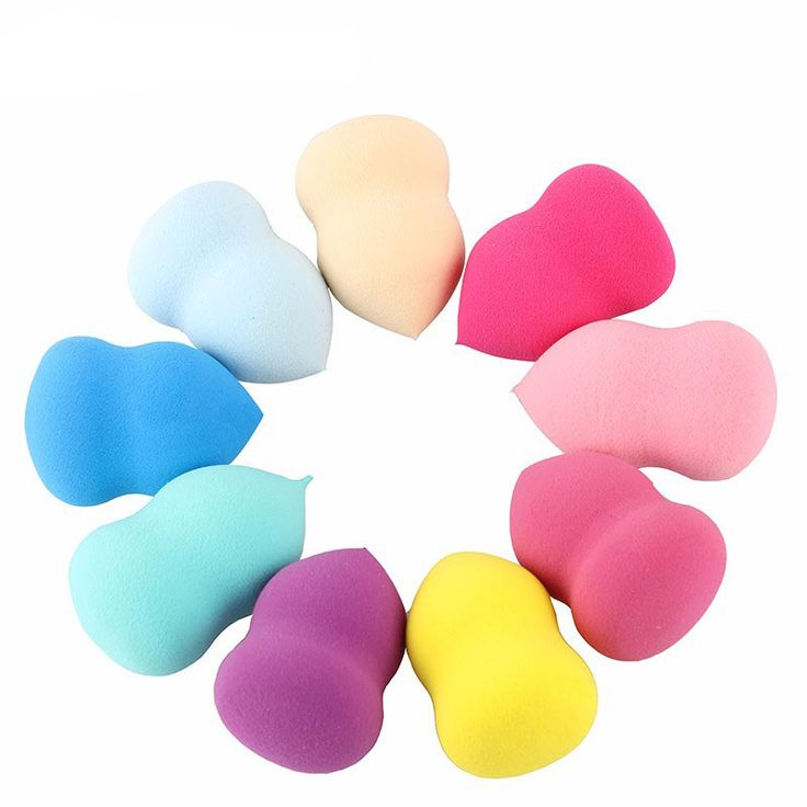 1pcs Soft Makeup Sponge Blender Foundation Puff Flawless Powder Professional Smooth Beauty Puff for Women Beauty Cosmetic Puff
