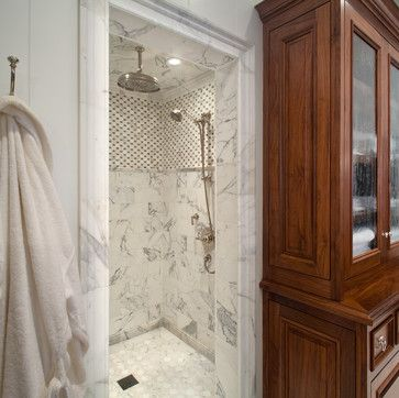 Transitional Beach House - beach style - bathroom - san diego - Anne Sneed Architectural Interiors