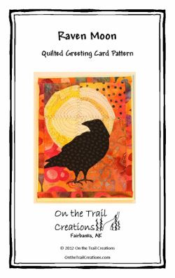 Raven Moon Quilted Greeting Card Pattern Download