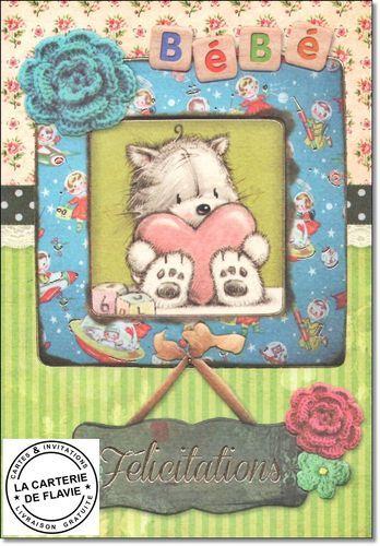 Cartes Félicitations Naissance garçon, fille, jumeaux à retrouver sur notre site: http://lacarteriedeflavie.com/Cartes-felicitations-naissance