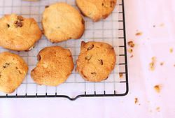 MACADAMIA, CHOC CHIP & ORANGE COOKIES