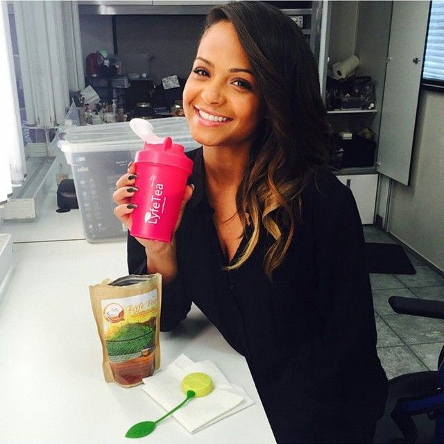 Major Love for @christinamilian loving the energy she gets from her Lyfe Tea Teatox! Get your antioxidant boost today! www.lyfetea.com #lyfetea#detox #teatox #healthy #fit#babe#lyfe0teatox