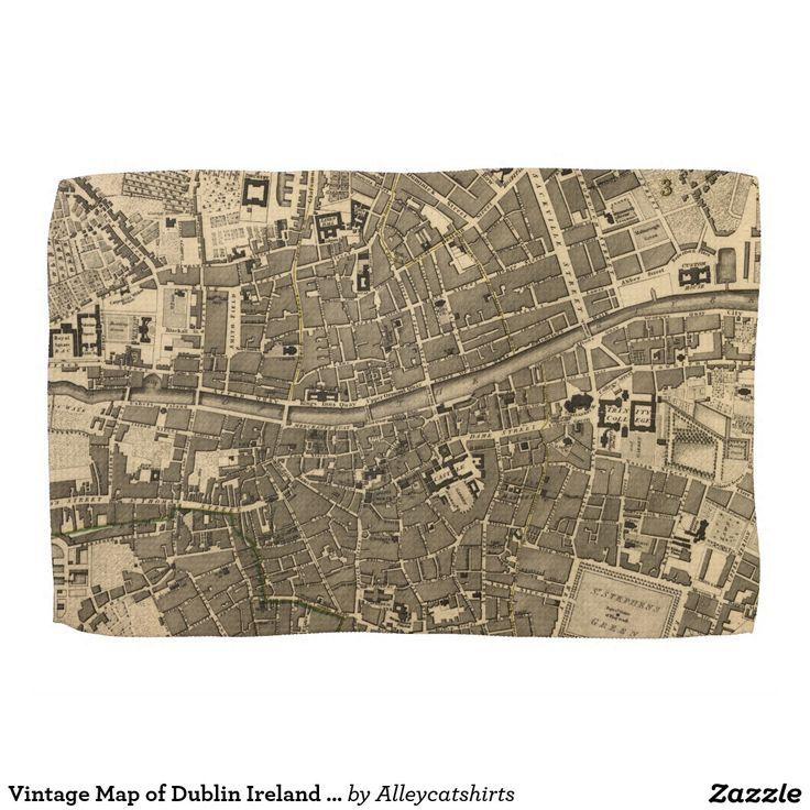 Best 25+ Dublin Ireland Map Ideas On Pinterest